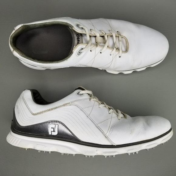 Footjoy Shoes Fj Pro Sl Spikeless Golf 12 White Poshmark